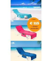 Aanbieding - 3- pack ITSA strandlakens