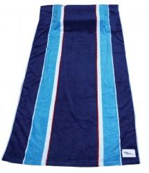 Tillow - strandlaken met kussen en zakken - blauw gestreept