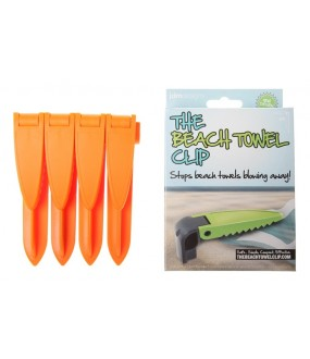 Strandlaken clip (Beach Towel Clip) - ORANJE