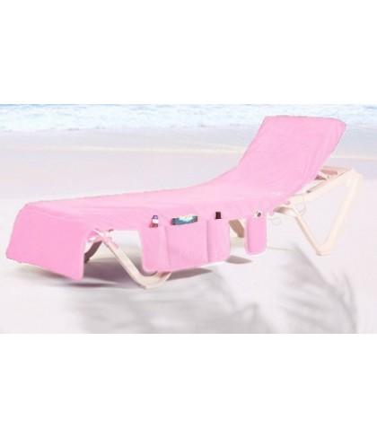 ITSA strandlaken voor op een strandbed LICHT ROZE